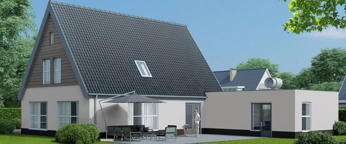 Bijzondere woningen riezebos bouwbedrijf for Moderne laagbouw woningen