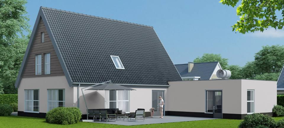 Moderne woningen riezebos bouwbedrijf for Moderne laagbouw woningen