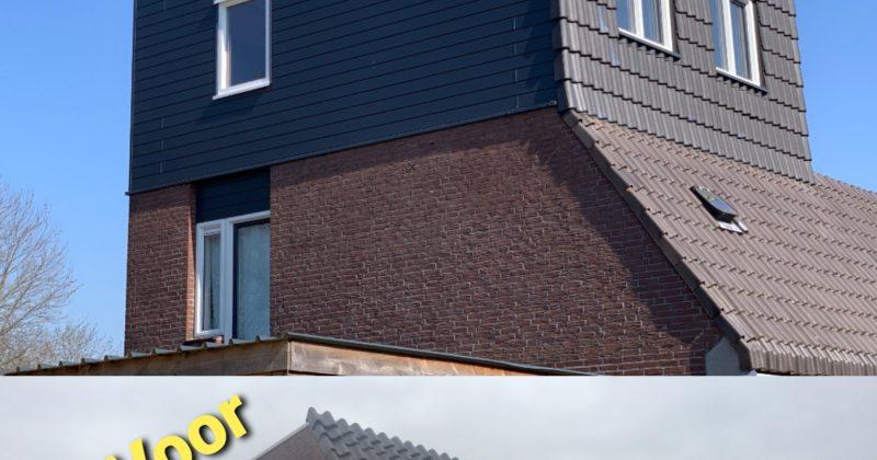 Dakopbouw Almere-Haven opgeleverd.