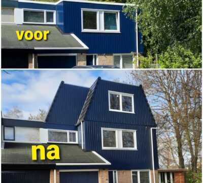 Opnieuw een mooie dakopbouw geplaatst in Lelystad
